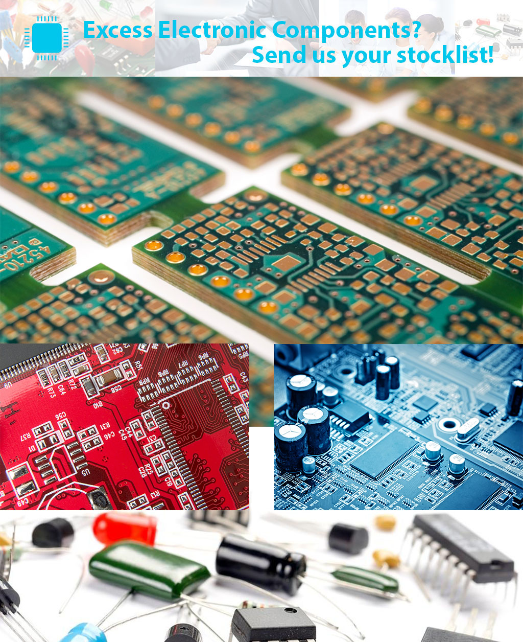 excess electronic components